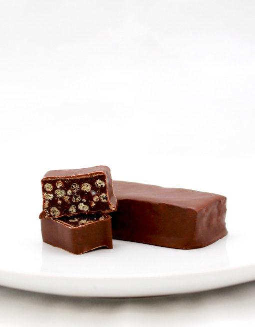 Barre Chocolat Noisettes Crunch