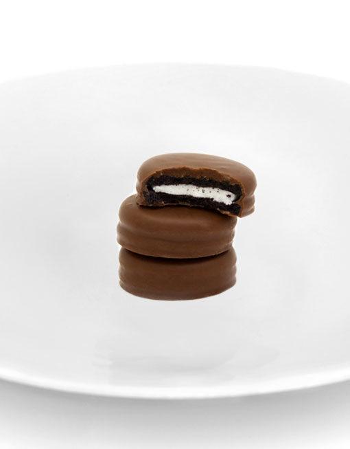 Biscuits Double Choc Fourrés Vanille