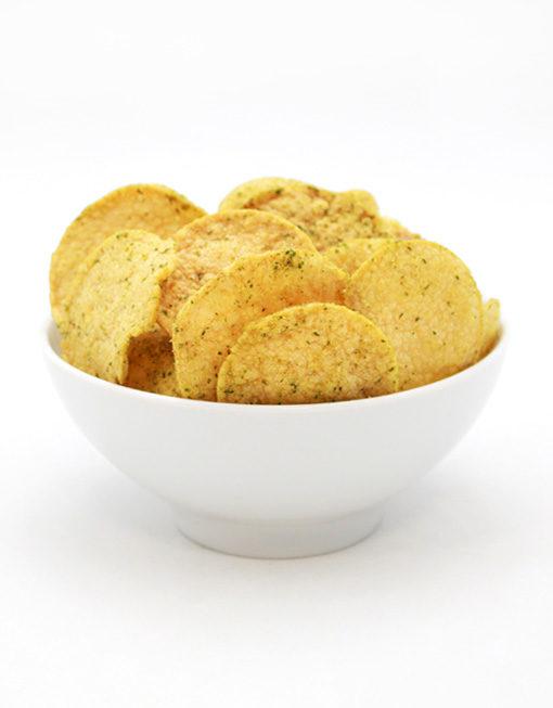 Chips de Soja Ail et Fines Herbes