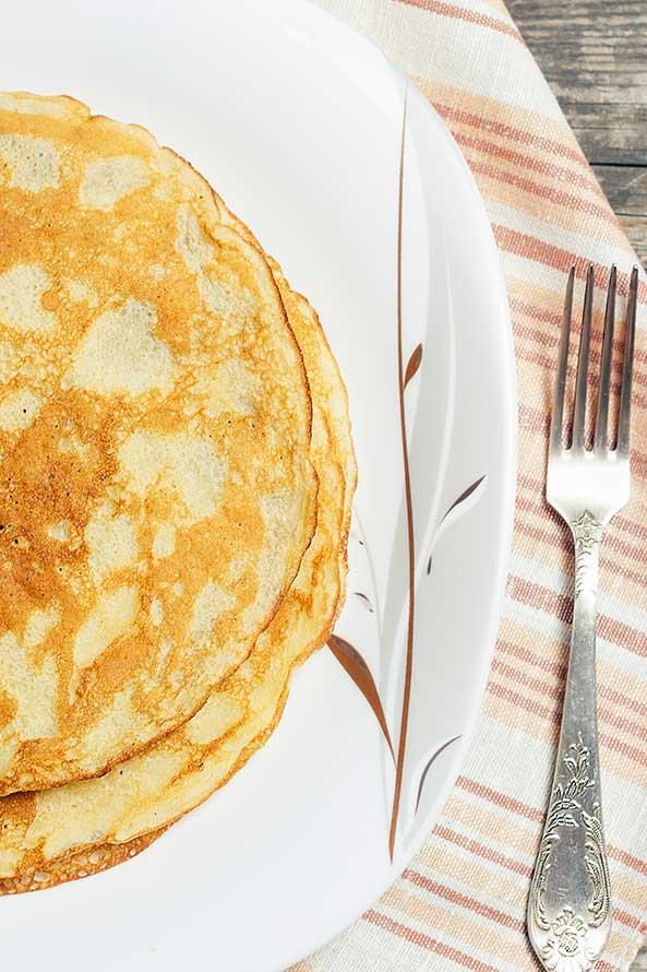 Pancake avec des Copeaux de Chocolat
