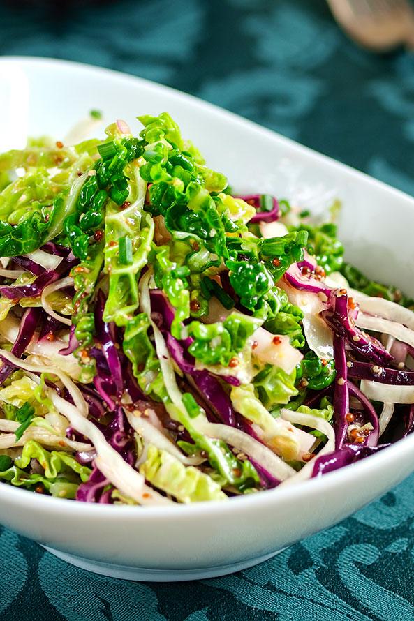 Salade Chou-rouge et Pomme