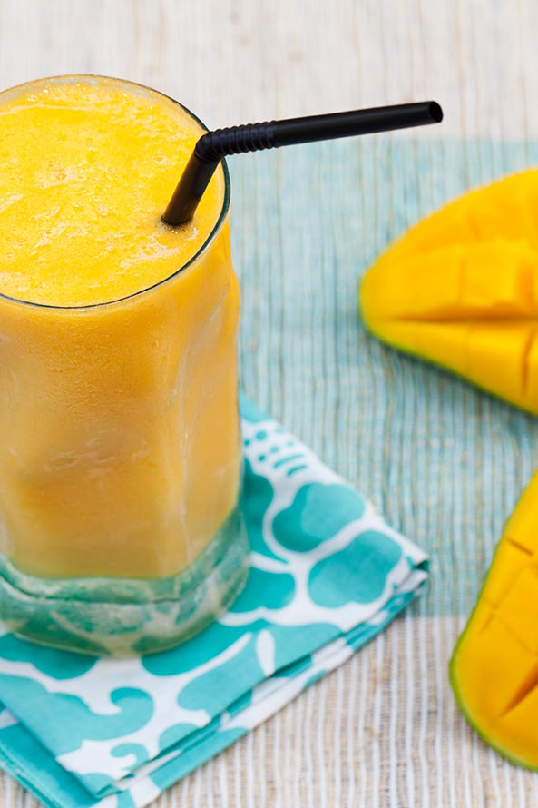 Smoothie Mangue et Piment