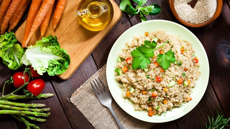 Quinoa regime lev diet