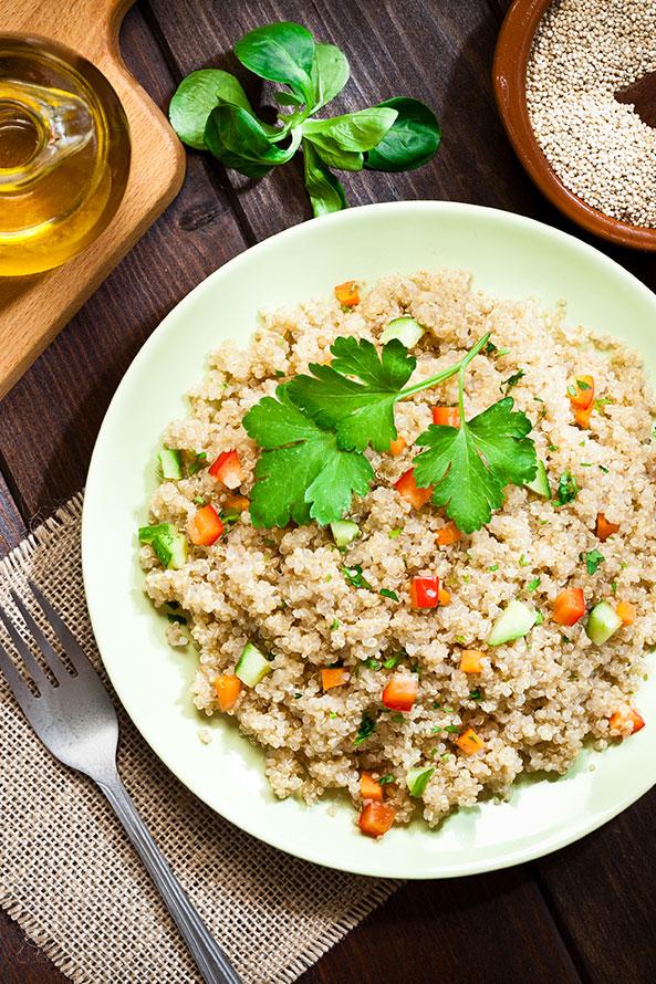 Quinoa à la Menthe