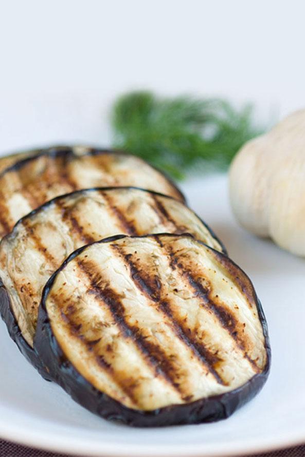 Recette Lev Diet Salade d'aubergines grillée
