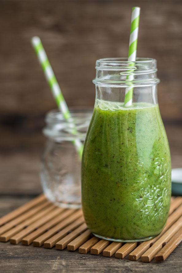 Recette Lev Diet Smoothie de Concombre et Kiwi