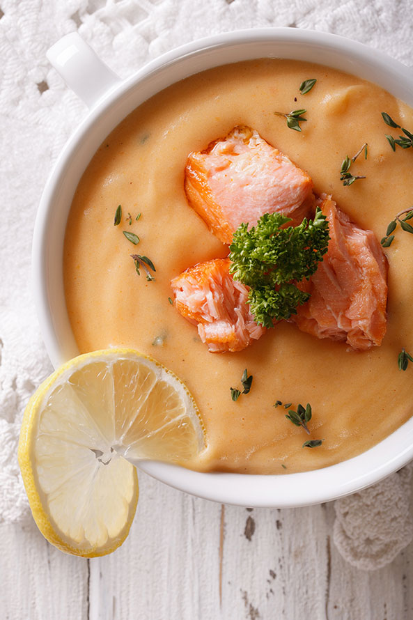 Recette Lev Diet Soupe de Poisson