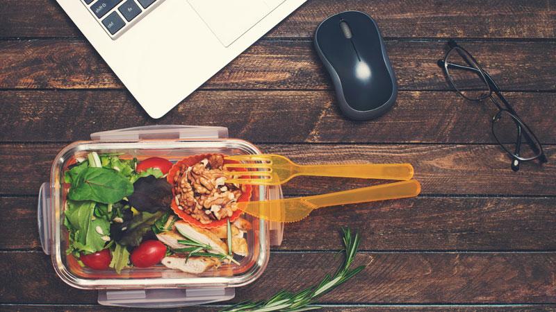 Lunch box plus saines