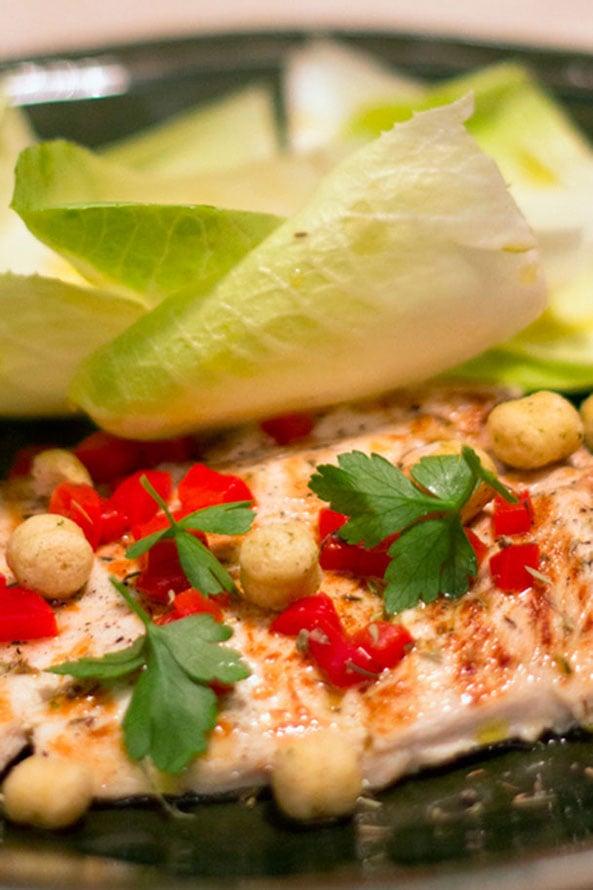 Recette Filet de dinde aux légumes et Snack Ail et Persil Lev Diet®